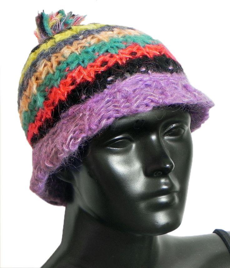 Multicolor Ladies Woolen Cap (Woolen)