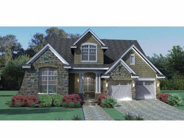 Cottage House Plan with 2143 Square Feet and 3 Bedrooms(s) from Dream Home Source | House Plan Code DHSW73224