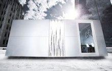 Dornob: Living Spaces, Modbox Exterior, Architecture Interiors, Interiors Design, Work Spaces, Living Work, Mod Boxes, Hipster Hyperbol, Architecture Details