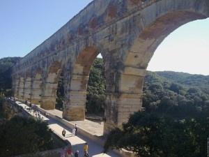 Le Pont du Gard dans la région d'Avignon - PACA