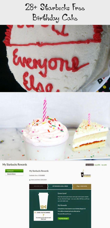 28+ Starbucks Free Birthday Cake Cake, Starbucks