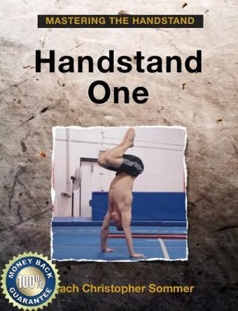 christopher sommer, gymnastics book, gymnastics courses, handstand one