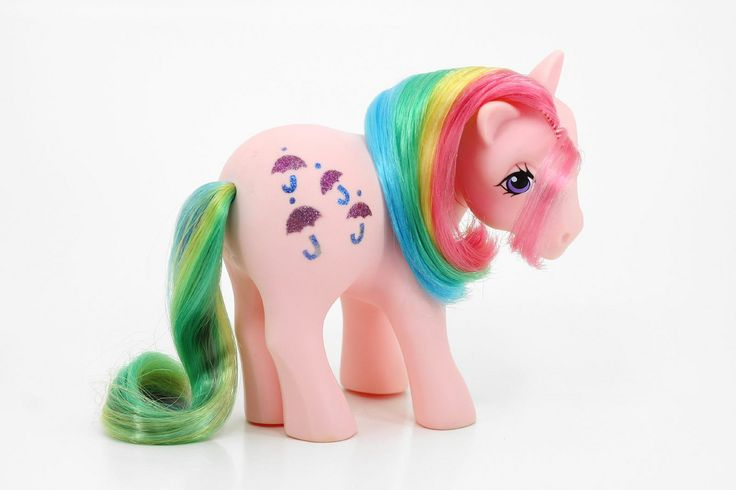 Parasol. Rainbow pony. Year 2. 1983-84.
