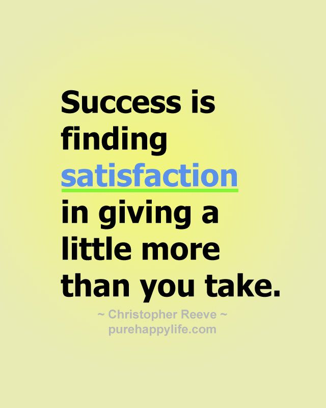 Top 10 Quotes On Giving Success Is Finding Satisfaction In Giving