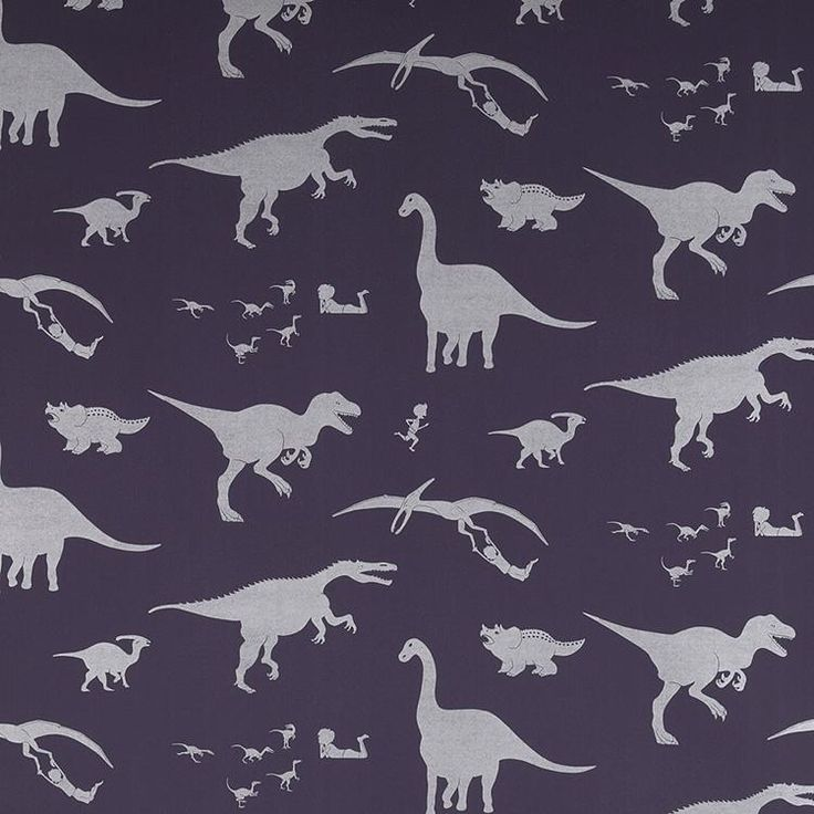 Purple dinosaur wallpaper