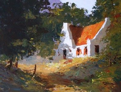 House In Woods - Tony De Freitas
