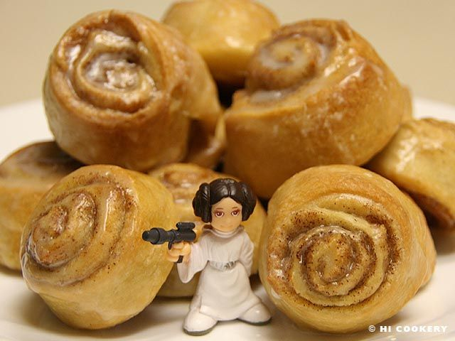 how to make princess leia buns