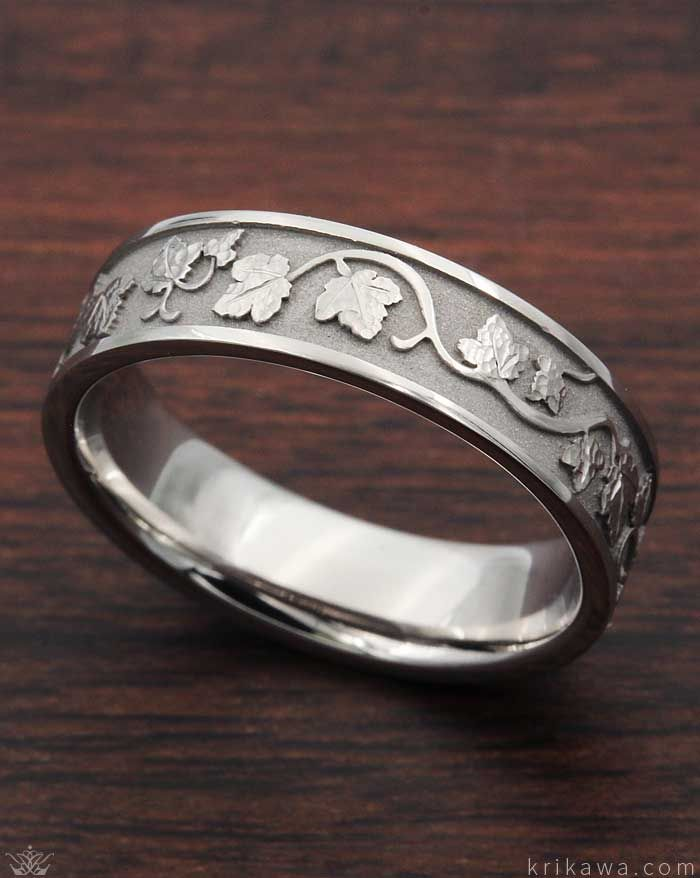 Daesar Sterling Silver Rings Wedding Bands for Women Round Pattern White Size 7