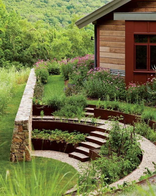 Vegetable Garden Border Ideas best 25 rock border ideas on pinterest Find This Pin And More On Escaliers