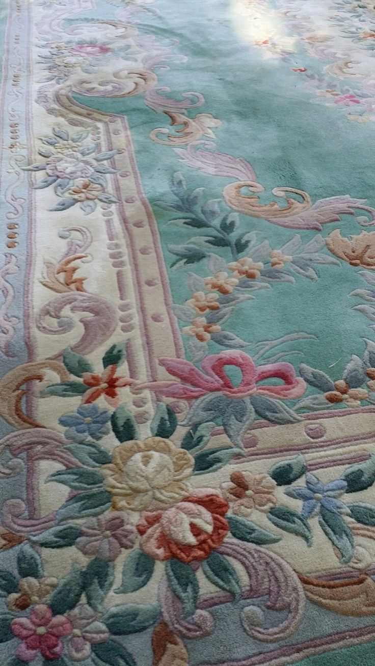 Chinese Aubusson Hand Knotted Oriental Rug 8'11x11'9 in Antiques, Rugs & Carpets, Extra Large (9x12 and larger) | eBay
