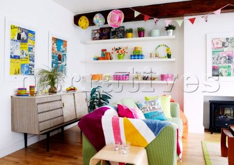 colourful sideboard - Google Search