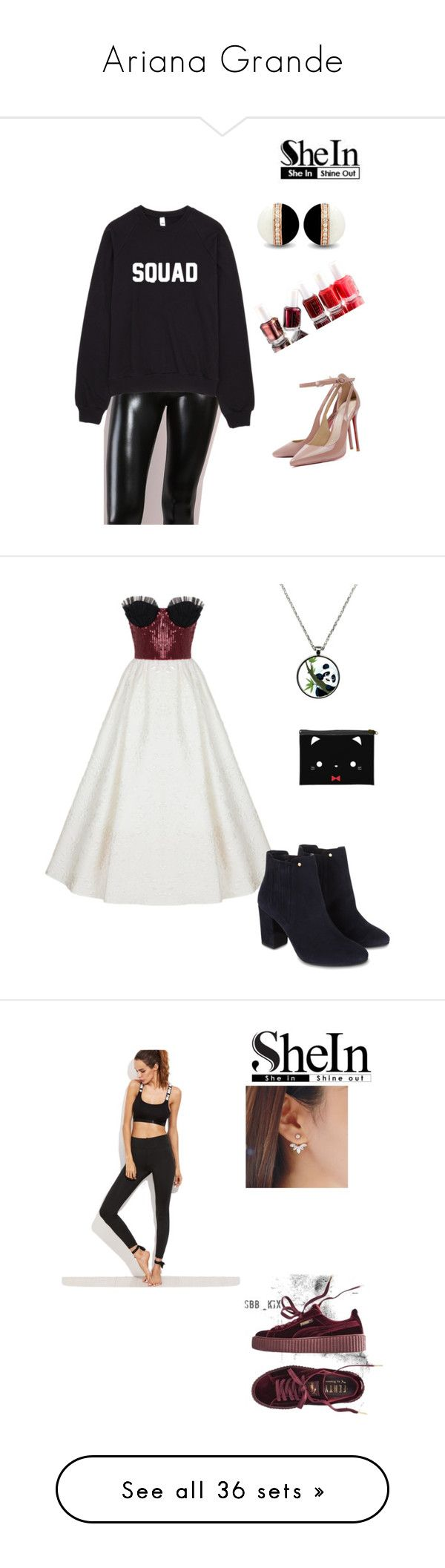 """""""Ariana Grande"""" by lady-shadylady ❤ liked on Polyvore featuring art, interior, interiors, interior design, home, home decor, interior decorating, Rasario, Monsoon and beauty"""