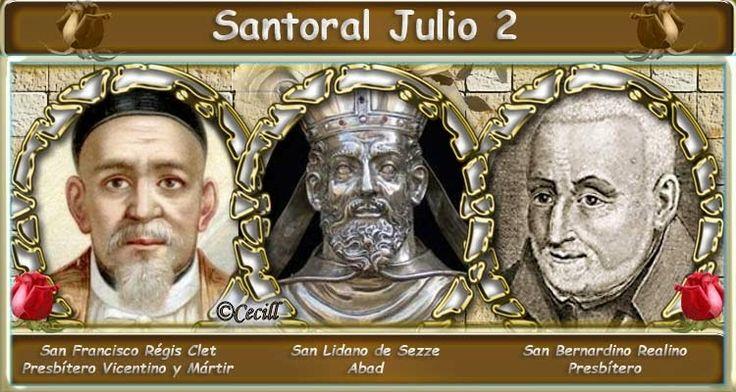 Vidas Santas: Santoral Julio 2