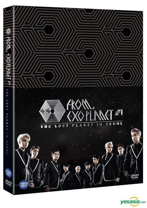 EXO FROM. EXOPLANET #1 - THE LOST PLANET in SEOUL (3DVD + Photobook) (Korea Version)
