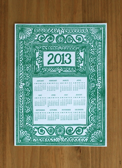 2013 Calendars (Katharine Watson)