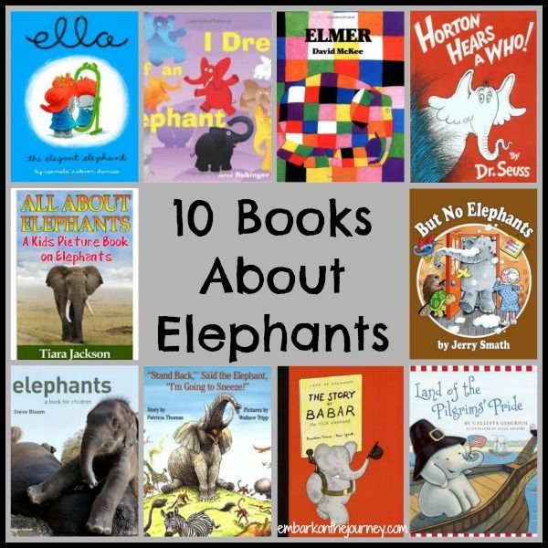 What to Read: Elephant Books and Printables | embarkonthejourney.com