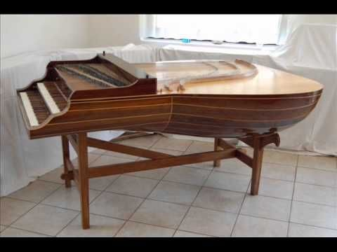Johann Sebastian Bach (1685-1750) Lute-Harpsichord Lautenwerk-Suite in E 996 5 Uploaded on Mar 12, 2011 The lautenwerck (also spelled lautenwerk), or lute-harpsichord (lute-clavier), was a European keyboard instrument of the Baroque period. It was similar to a harpsichord, but with gut rather than metal strings, producing a mellow tone.