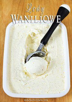 Ekspresowe lody waniliowe (bez jajek i maszyny) / No churn vanilla ice cream (no eggs and ice cream maker)