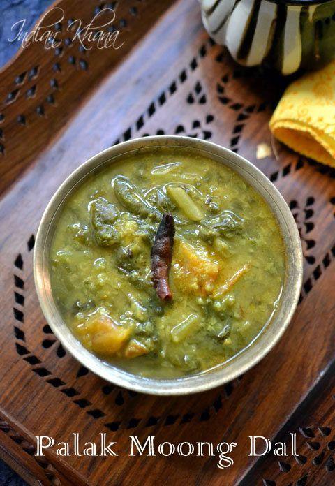 Palak Moong Dal | Dal Palak Recipe  Easy, healthy, Vegan palak (spinach) dal