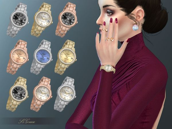 The Sims Resource: Watch by S4grace • Sims 4 Downloads
