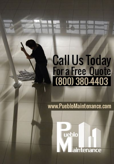 Pueblo maintenance tailor our services based upon the needs of each and individual client.