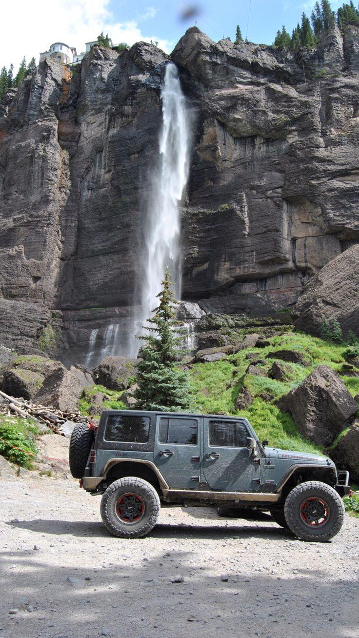 2013 Jeep Wrangler rubicon anniversary edition anvil color black bear pass Telluride CO