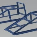 Pair of metal ramps for car to borrow in S33 | ecomodo
