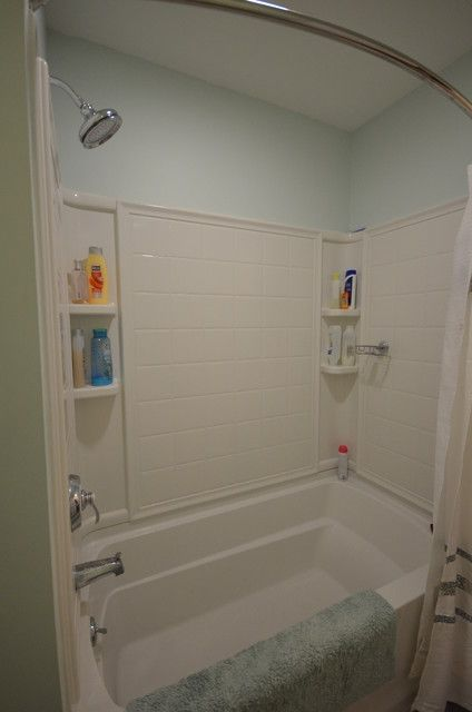 cool inspiration to estimate traditional bathroom renovation cost also white small bathtub and white shower - Bath Renovation