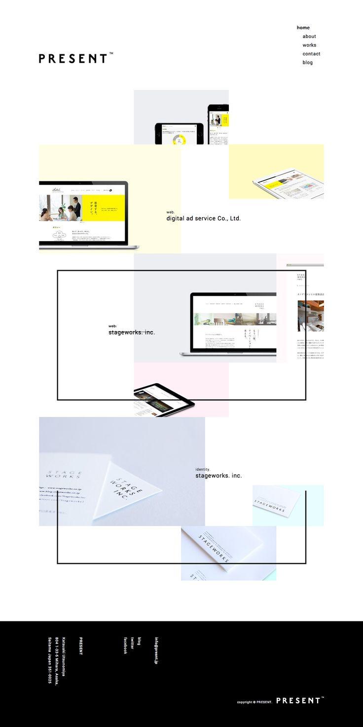 PRESENT – Branding & Design : 81-web.com【Webデザイン リンク集】