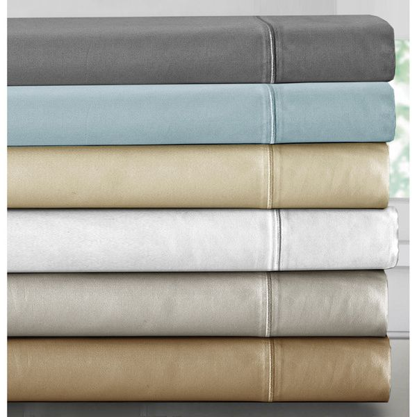 Luxury 1000 Thread Count Deep Pocket Cotton Rich Sheet Set  I would love to have just one set of really high thread count sheets--800 thread count or more . I've seen affordable ones on Overstock.com and other sites. I've also seen some in places like Home Goods, TJ Maxx, and Marshalls. I need Queen sized, even though my bed's a full because of the mattress topper and pillow top mattress.