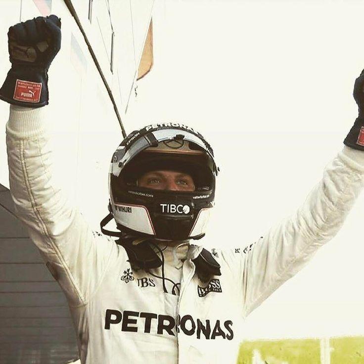 @valtteribottas wins the Russian Grand Prix!!! Maiden victory for Valtteri!! Congratulations @mercedesamgf1 @valtteribottas #f1 #russiangrandprix #mercedes #bottas #stilohelmets #stilo #stilohelmet #st5