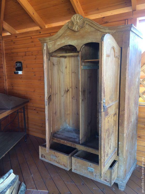 Реставрация старинного шкафа. Часть 1: вступление и небольшой экскурс в историю - Ярмарка Мастеров - ручная работа, handmade