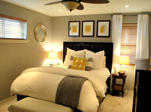 Master bedroom bedroom designs decorating ideas hgtv - Master bedroom ideas for small spaces ...