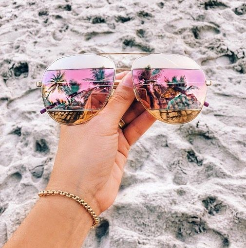 Weekend ready? Check out our BROOKLYN sunglasses in PINK