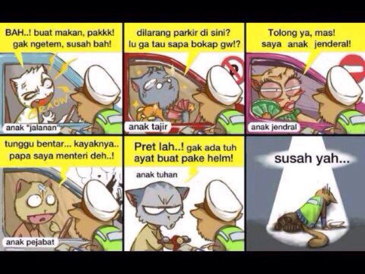 Susahnya jadi polisi di Indonesia....