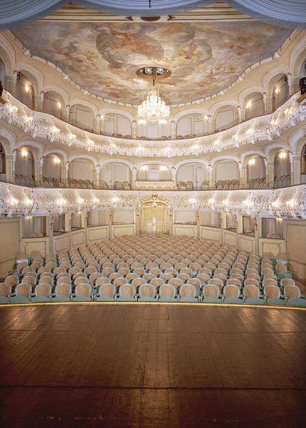 The Rokokotheater, Schwetzingen Palace, Germany