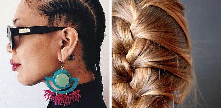 Les 25 meilleures id es concernant deux tresses africaines sur pinterest cheveux de jour d - Nattes collees modeles ...