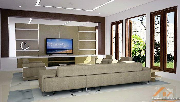 Desain Interior Ruang Keluarga Minimalis - http://minimalisku.com/desain-interior-ruang-keluarga-minimalis