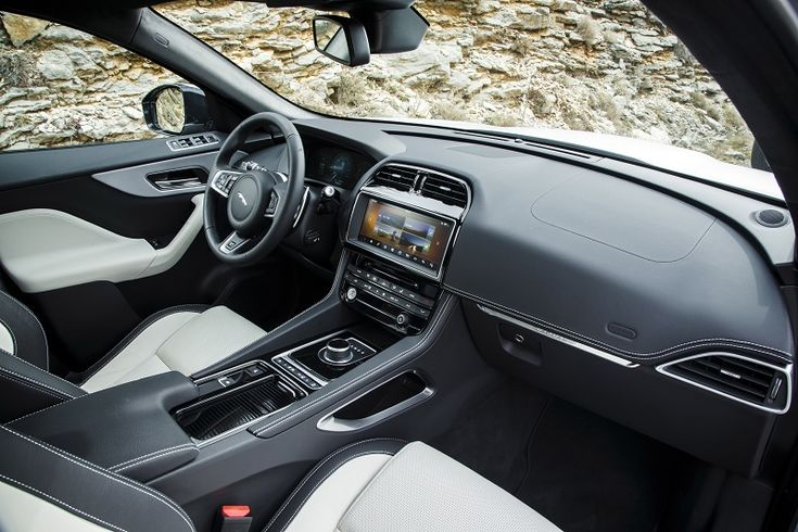 Image result for jag f pace interior