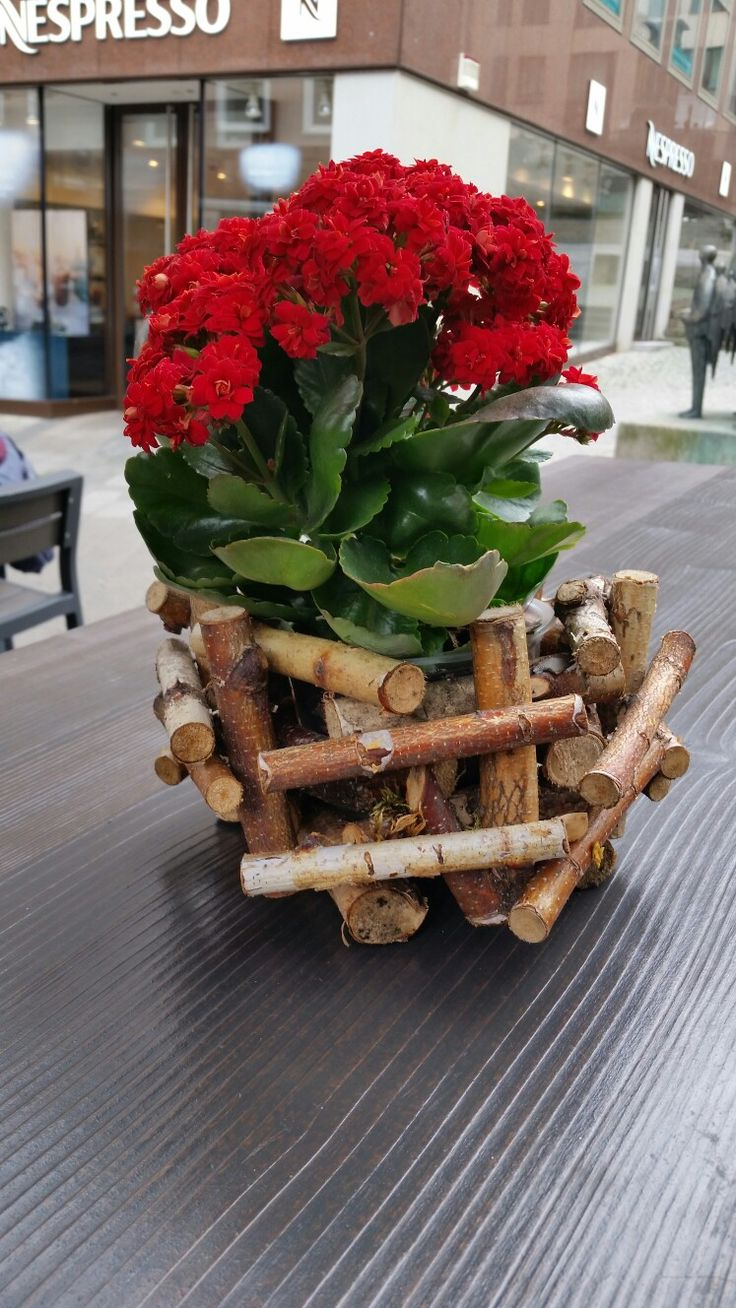 Great outdoor table decoration in Munich