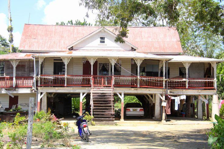 Koloniale woning peperpot,#Peperpot,#Commewijne,#Suriname