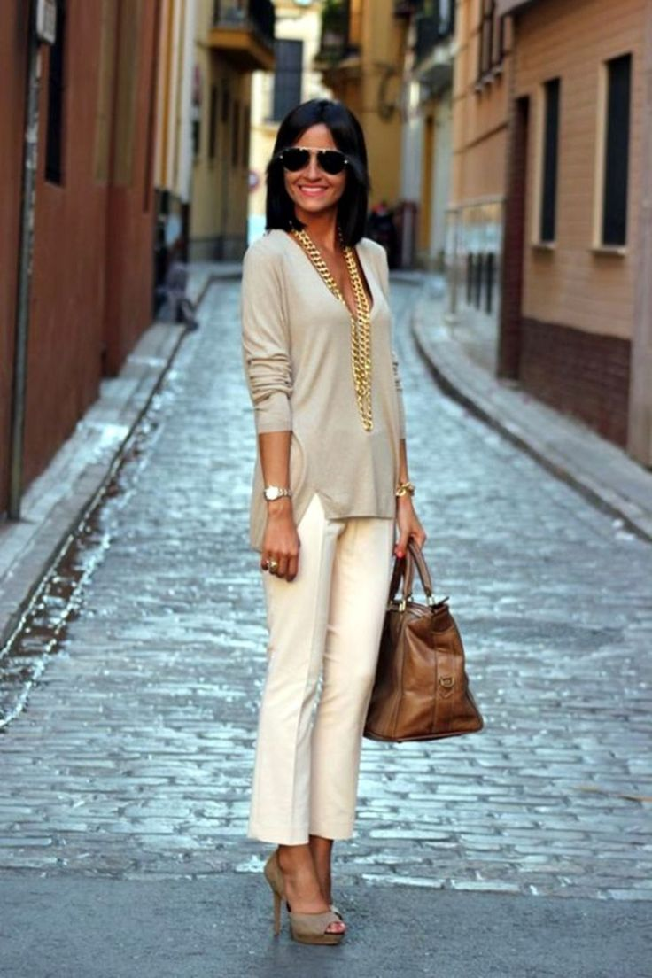 Bussiness outfit with high heel shoes inspiration (32) - Fashionetter