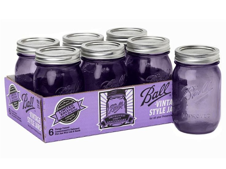 Ball jars is releasing PURPLE throwback jars in 2015!!!!
