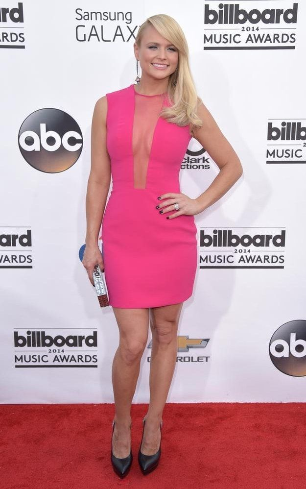 Adorable! Want! Probably with different shoes, however. - Miranda Lambert | All The Looks From The Billboard Music Awards Red Carpet
