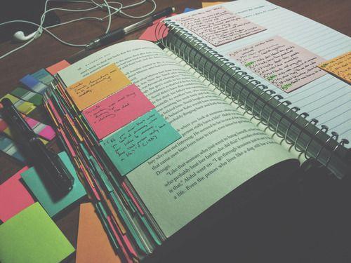 Imagem de school, book, and study