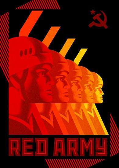 Red Army Poster