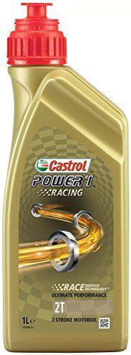 Castrol Power 1 Racing Huile Moteur 2T 1L (Etiquette anglaise): L'huile Castrol Power 1 Racing 2T est une huile 100% synthétique pour…