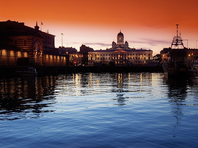 Visit Helsinki during summer and stay at the Klaus K...nice stuff..
