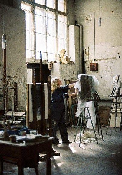 17 beste afbeeldingen over studioland op pinterest new york atelier en schildersezels - Studio opslag ...