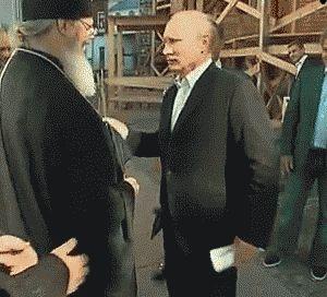 Putin har lite bögfobi